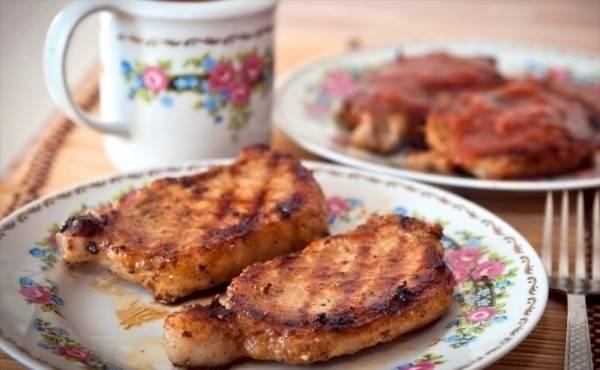Свинина в сливовом соусе - пошаговый рецепт с фото на