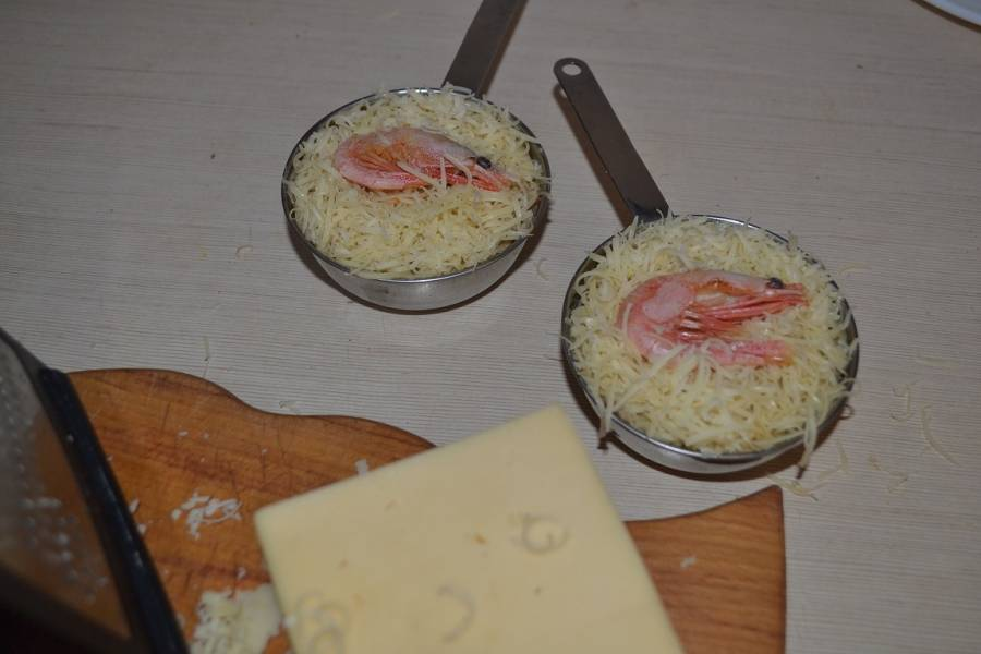 Жюльен - Дары моря - пошаговый рецепт