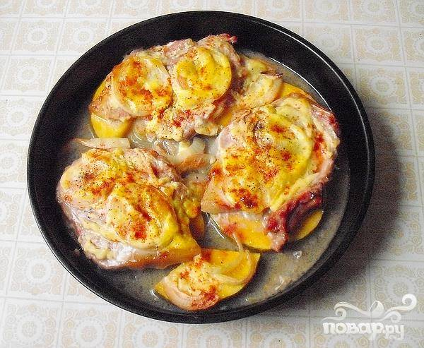 Запеченная свинина с тыквой - пошаговый рецепт