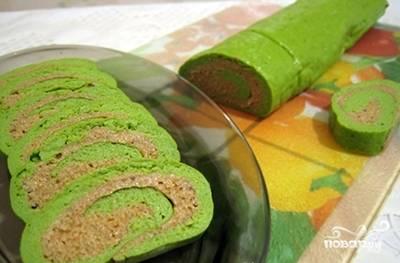 Рулет из брокколи - пошаговый рецепт