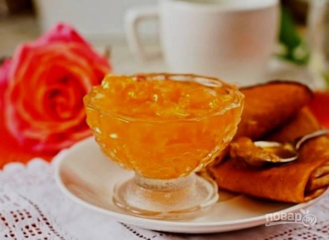 Варенье из апельсинов в хлебопечке