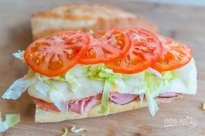 Итальянский клубный сэндвич - фото шаг 4