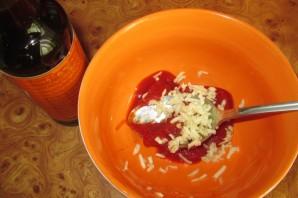Куриная голень в соевом соусе - фото шаг 2
