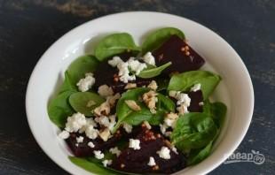 Салат из свеклы без майонеза - фото шаг 4