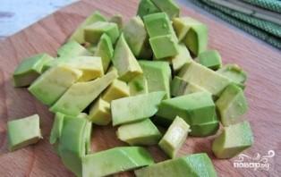 Салат из авокадо и редиса - фото шаг 3