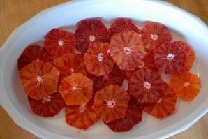 Апельсины в карамели - фото шаг 3