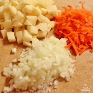 Домашний суп с фрикадельками - фото шаг 2