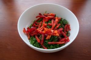 Салат с говядиной и сыром - фото шаг 4