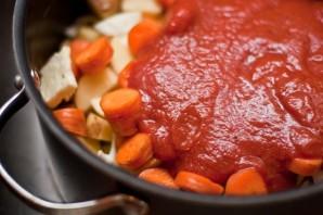 Рагу с картошкой и капустой - фото шаг 5