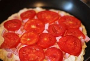 Быстрая пицца на сковороде - фото шаг 5