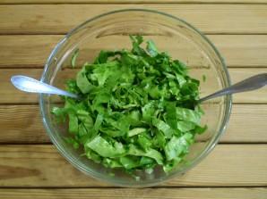Салат зеленый - фото шаг 8