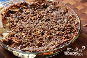 Яблочный десерт с овсяными хлопьями - фото шаг 5