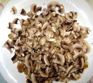 Жульен с грибами на сковороде - фото шаг 4