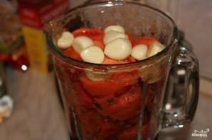 Холодный томатный суп - фото шаг 1
