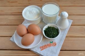 Домашний сыр из молока и сметаны - фото шаг 1