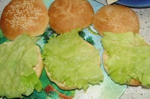 """Гамбургер """"Макдональдс"""" - фото шаг 4"""