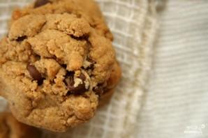 Ванильное печенье с шоколадом - фото шаг 3