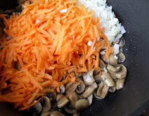 Плов с грибами и мясом - фото шаг 5