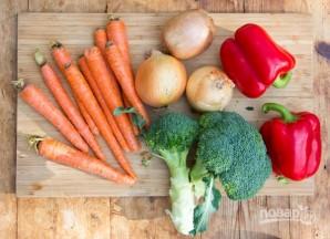 Лазанья с запеченными овощами - фото шаг 1