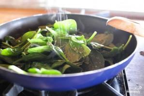 Сырный соус с артишоками и шпинатом - фото шаг 2
