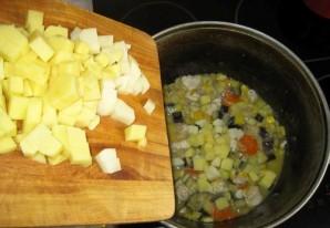 Рагу с мясом и кабачками - фото шаг 7