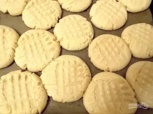 Простое арахисовое печенье - фото шаг 6