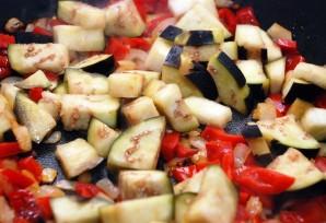 Паста с баклажаном и помидорами - фото шаг 4