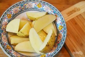 Деревенский картофель под сырным соусом - фото шаг 4