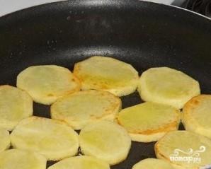 Треска, запеченная с картофелем - фото шаг 3