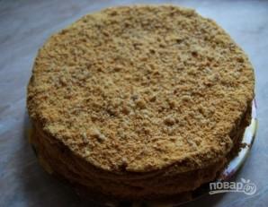 """Торт """"Наполеон"""" с очень вкусным кремом - фото шаг 20"""