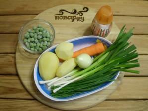 Простой овощной суп - фото шаг 1