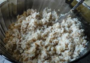 Пирог с консервой и рисом - фото шаг 1