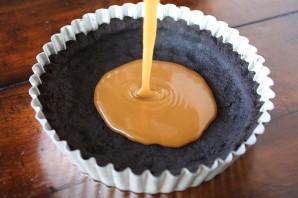 Торт с соленой карамелью - фото шаг 6