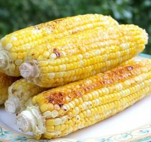 Кукуруза, запеченная с медом в духовке - фото шаг 3