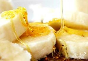 Постная коврижка с медом и бананом - фото шаг 1