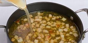 Суп в хлебе по-польски - фото шаг 7