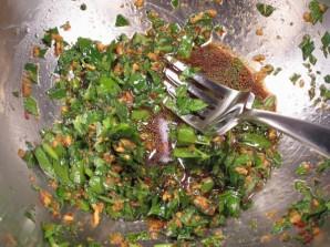 Салат с мясом и грибами - фото шаг 4