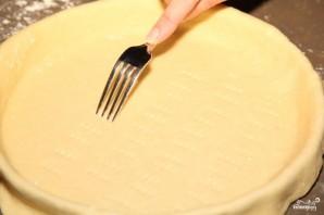 Вишневый пирог из дрожжевого теста - фото шаг 3