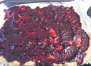 Тертый пирог со смородиной - фото шаг 6