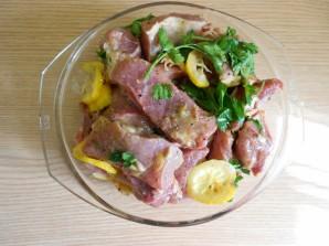 Шашлык из окорока свинины - фото шаг 1