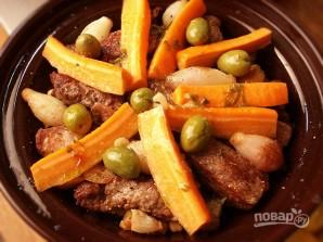Мясо в тажине - фото шаг 6
