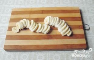 Салат из риса с сердцем и фруктами - фото шаг 4