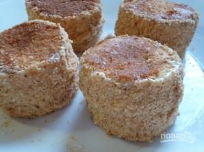 Бисквитные пирожные с кремом - фото шаг 13