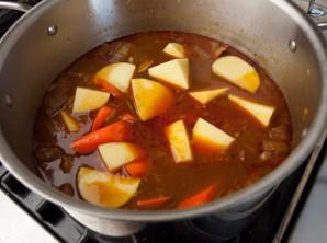 Мясное рагу с картошкой - фото шаг 7