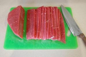 Вяленое мясо в духовке - фото шаг 2