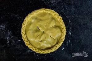 """Пирог с """"пьяными"""" фруктами - фото шаг 6"""