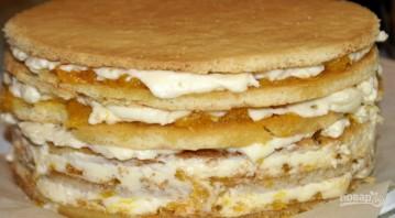 """Торт """"Сочный апельсин"""" - фото шаг 5"""