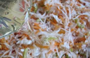 Вкусная маринованная капуста хрустящая - фото шаг 2