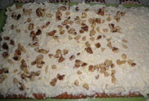 Творожный торт на скорую руку - фото шаг 6
