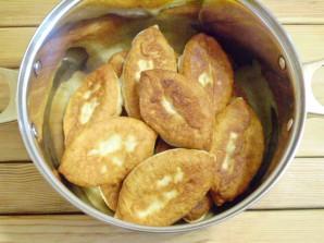 Пирожки постные с грибами - фото шаг 15